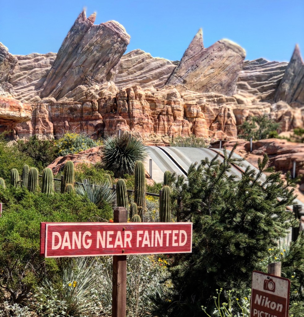 Radiator Springs Racers, Disneyland California Adventure Park, Pixar Fest