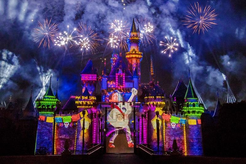 Pixar Fest, Disneyland, California, Sleeping Beauty Castle