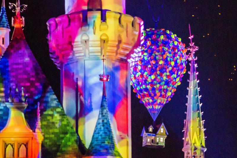Up, Disneyland, Pixar