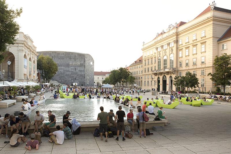 The Museums Quartier, Austria