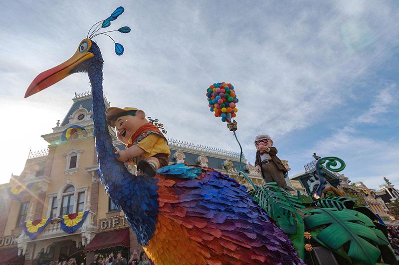 Pixar Play Parade, Pixar, Disneyland