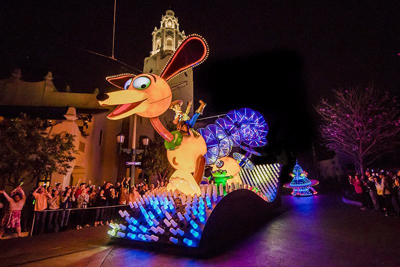 Pixar Parade, Toy Story, Disneyland