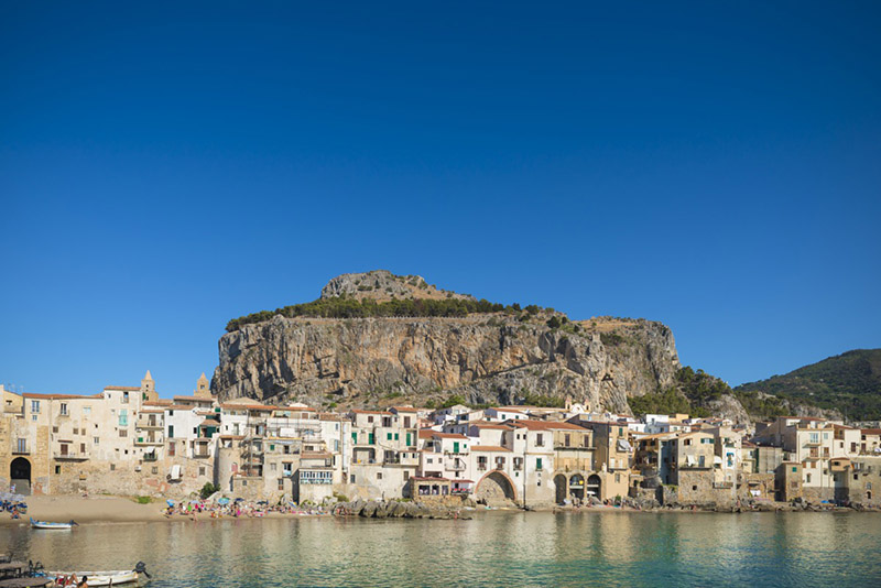 View of Cefalu, Sicily