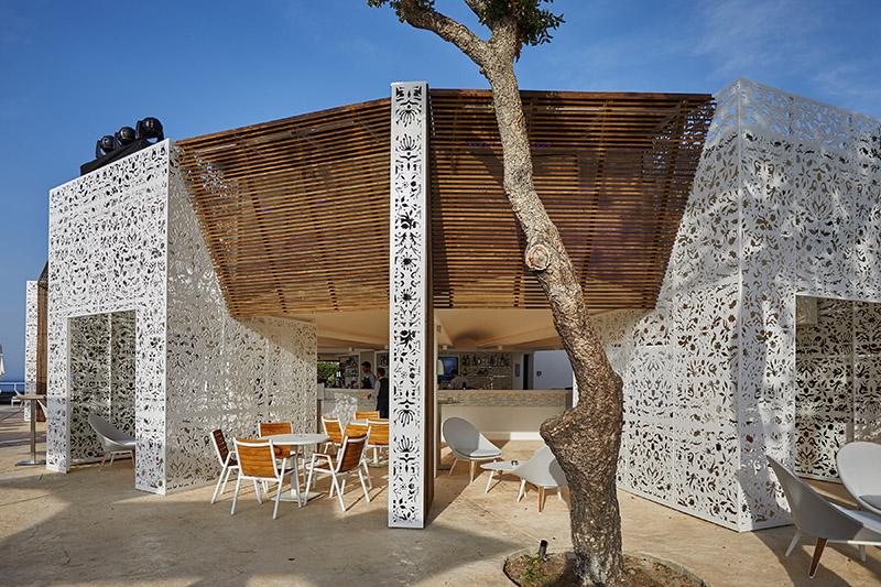 Bar, Club Med Cefalu, Sicily, Italy
