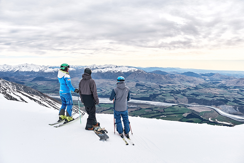 Mt Hutt, New Zealand