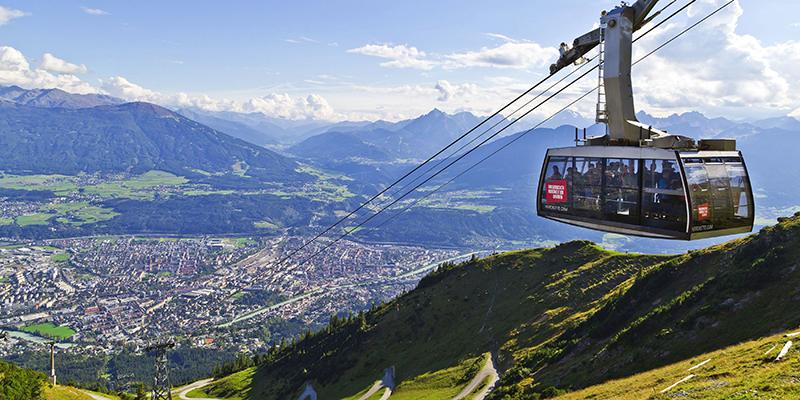 Nordkette mountains, Innsbruck, Austria