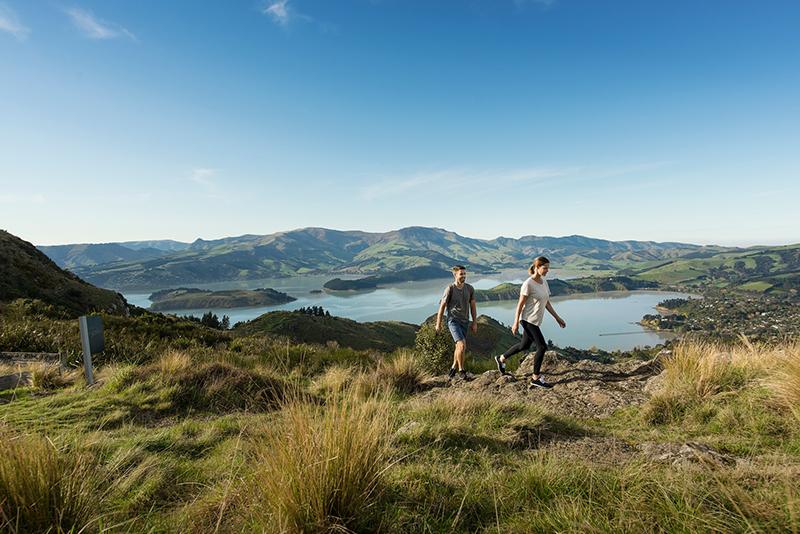 Port Hills, Christchurch, New Zealand