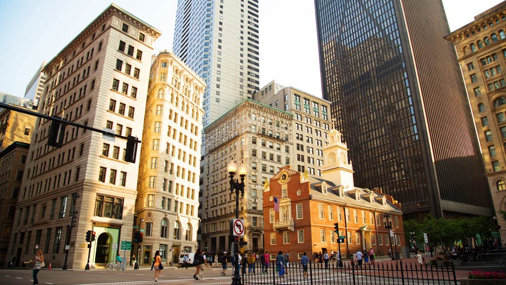 Boston, Old State House, New England, Massachusetts