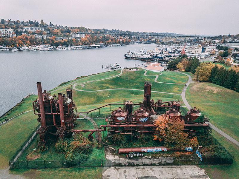 Gas Works Park Seattle, Sleepless in Seattle, Must do Seattle, Romantic Seattle activities
